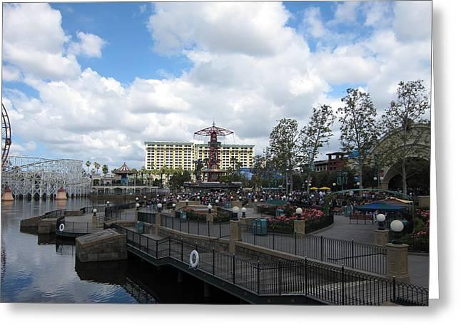Disneyland Park Anaheim - 121238 Greeting Card by DC Photographer