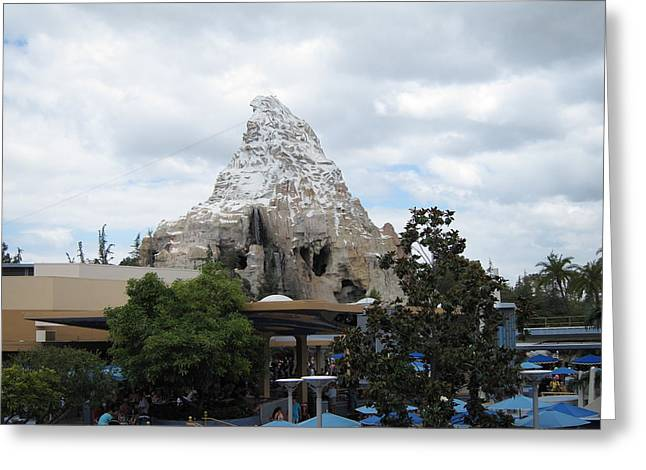Disneyland Park Anaheim - 121248 Greeting Card by DC Photographer