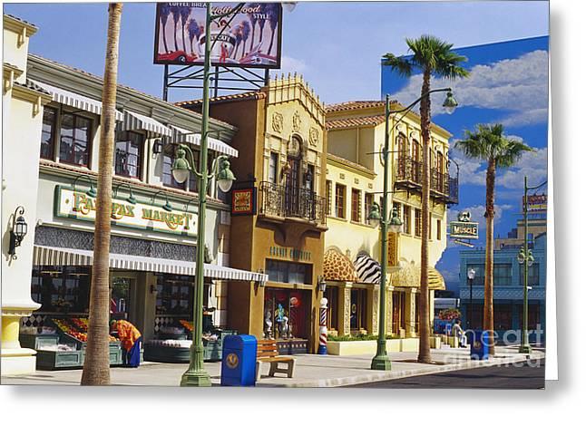 Disneys California Adventure Park Greeting Card