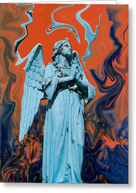 Dissipitation Greeting Card by Mary Burr
