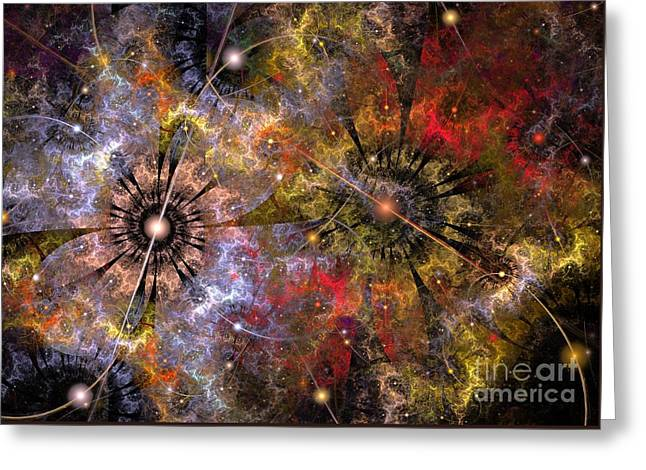 Distant Cosmos Greeting Card