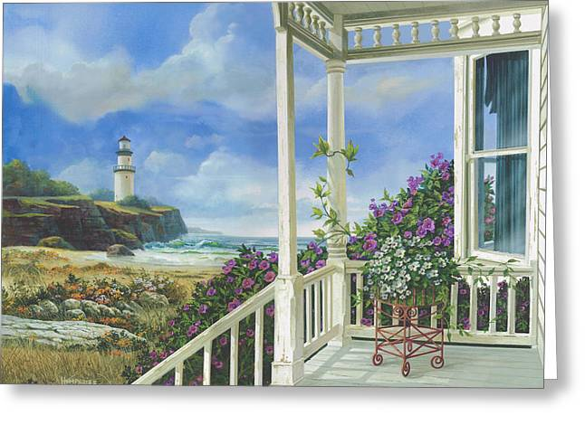 Distant Dreams Greeting Card
