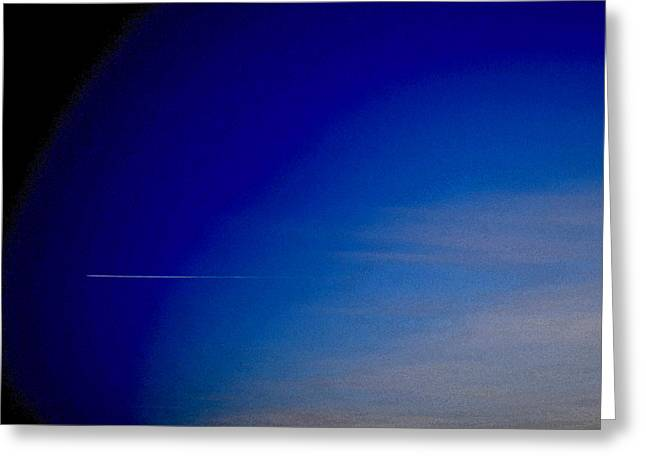 Distant Flight 5  Greeting Card by Lyle Crump