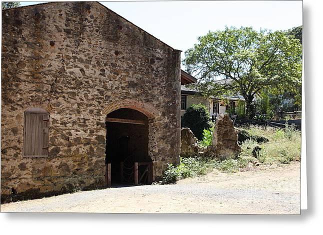 Distillery At Historic Jack London Ranch In Glen Ellen Sonoma California 5d24531 Greeting Card