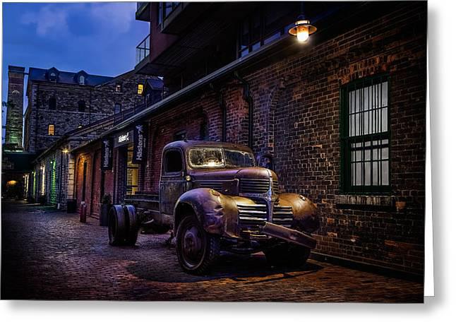 Distillery District Toronto Greeting Card