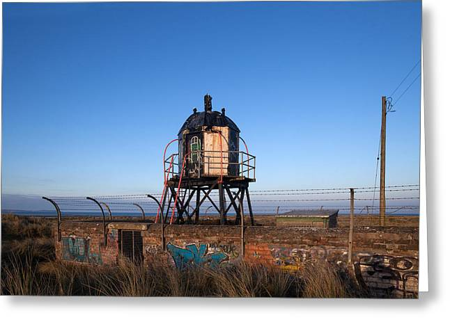 Disused Lighthouse, Mornington, County Greeting Card by Panoramic Images
