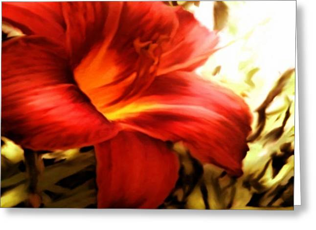 Ditch Flowers Greeting Card
