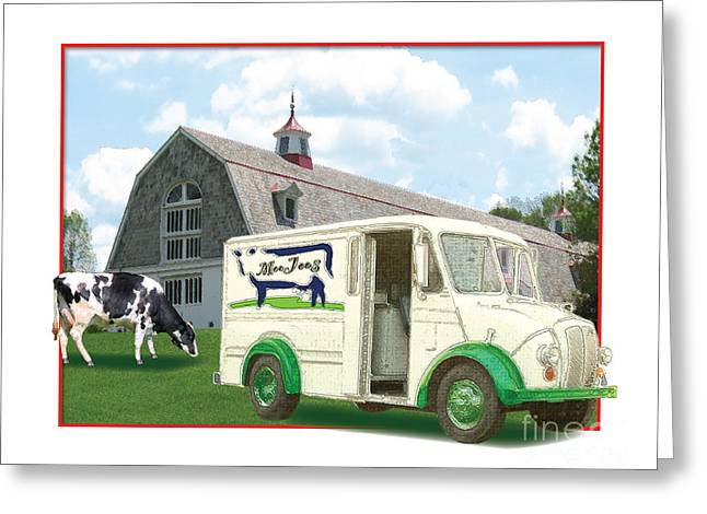 Divco Delivery Truck Greeting Card