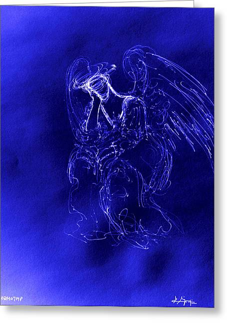 Divine Angel Greeting Card