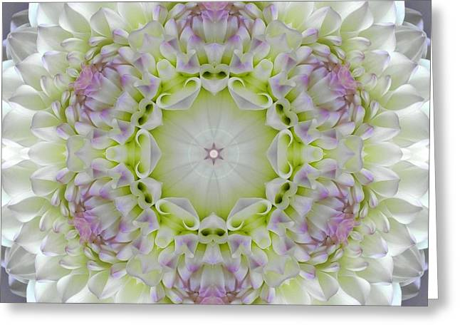 Divine Grace Mandala Greeting Card