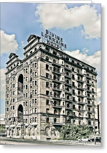 Divine Lorraine Hotel Greeting Card