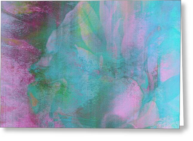Divine Substance - Abstract Art Greeting Card