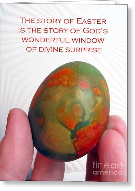 Divine Surprise Greeting Card by Ausra Huntington nee Paulauskaite