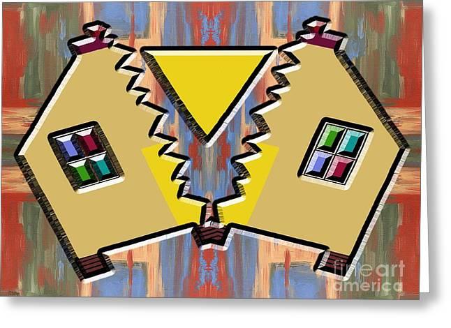 Divorce Greeting Card by Patrick J Murphy