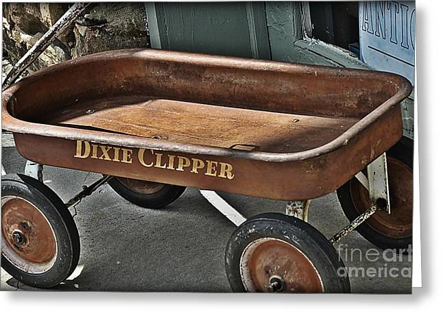Dixie Clipper Road Warrior Greeting Card by JW Hanley