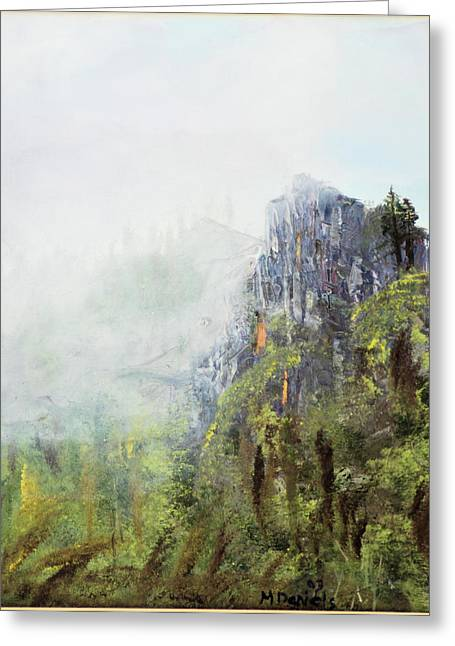 Dixville Notch Nh Greeting Card by Michael Daniels