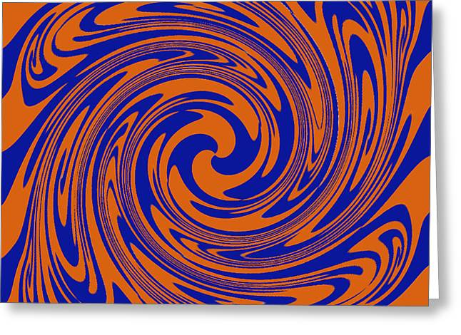 Dizziness Greeting Card by Soumya Bouchachi