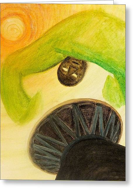 Djembe Greeting Card