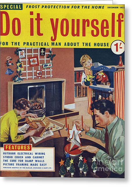 Do it yourself 1957 1950s uk diy drawing by the advertising archives do it yourself 1957 1950s uk diy greeting card by the advertising archives solutioingenieria Gallery