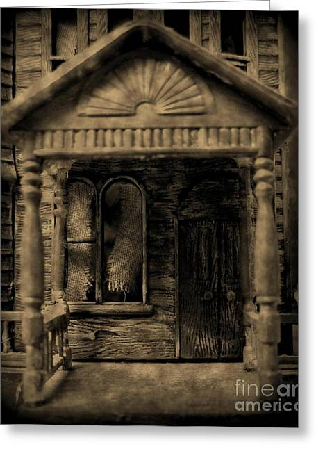 Do Not Enter Greeting Card by John Malone