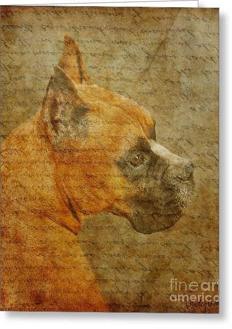 Do You Remember Me? Greeting Card by Judy Wood