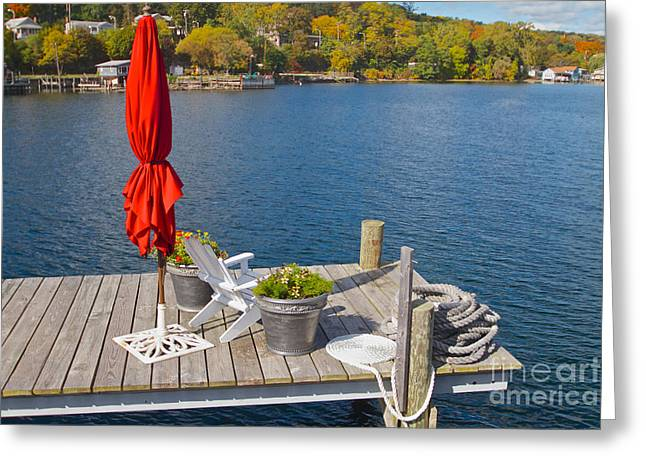 Dock By The Bay Greeting Card