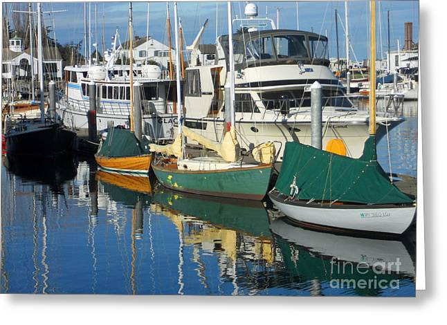 Dock Of The Bay Greeting Card by Lauren Leigh Hunter Fine Art Photography