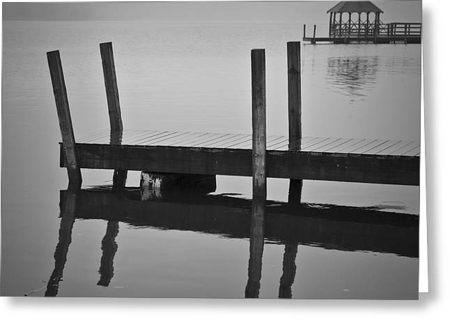 Docks And Gazebo Greeting Card