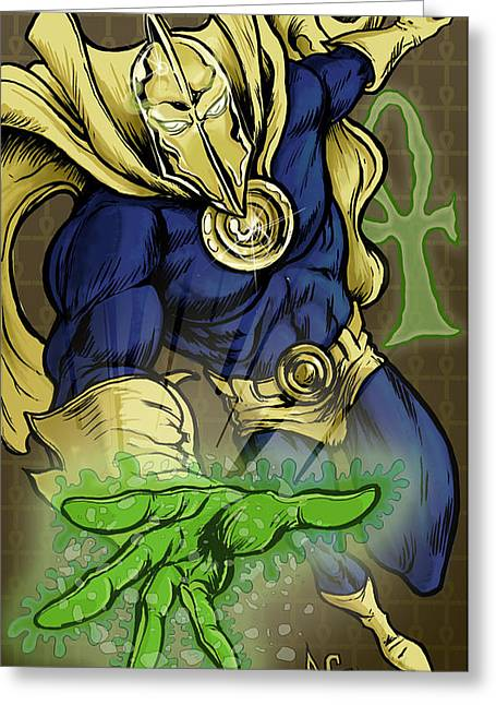 Doctor Fate Greeting Card