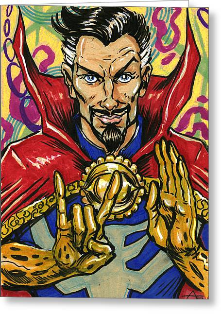 Doctor Strange Greeting Card
