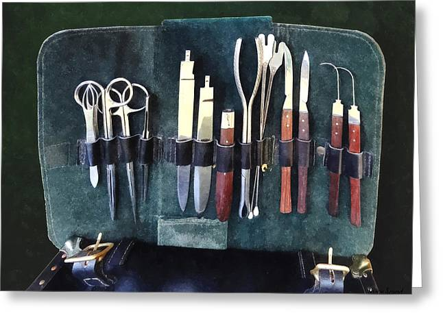 Doctors - Surgical Instruments Circa Civil War Greeting Card