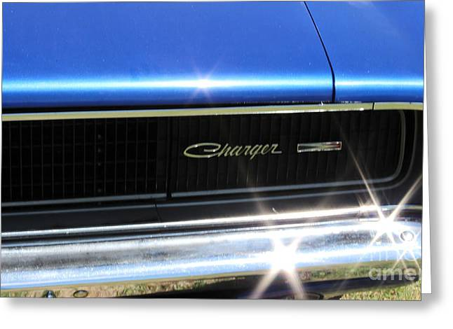 Dodge Charger Greeting Card