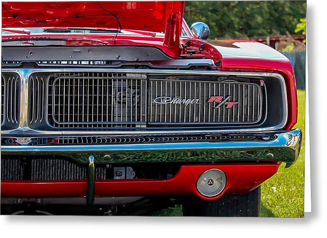 Greeting Card featuring the photograph Dodge Charger Rt Classic  by Trace Kittrell