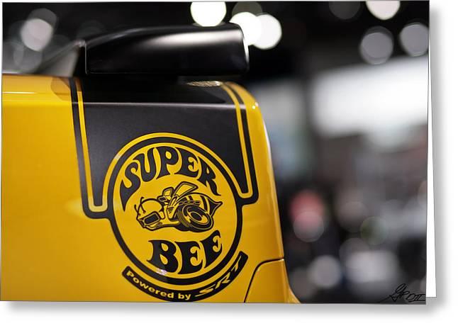 Dodge Charger Srt Super Bee Greeting Card