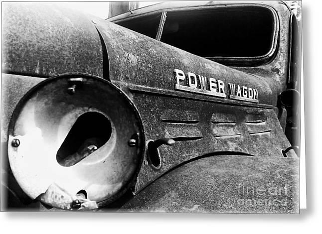 Dodge - Power Wagon 1 Greeting Card by James Aiken