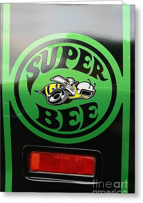 Dodge Super Bee Greeting Card