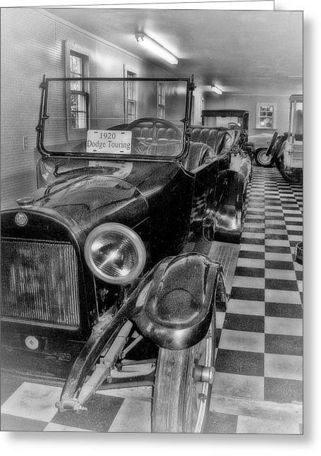 Dodge Touring Greeting Card by Larry Bishop