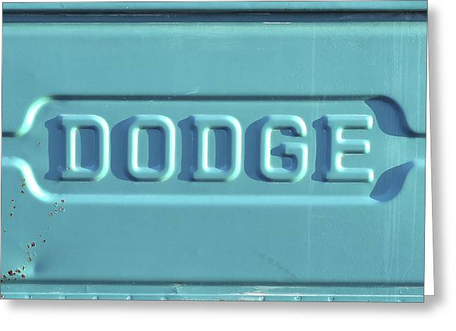 Dodge Truck Tailgate Greeting Card