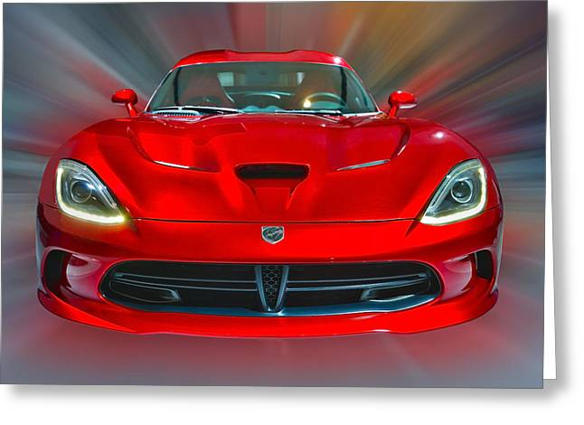 Dodge Viper Srt  2013 Greeting Card