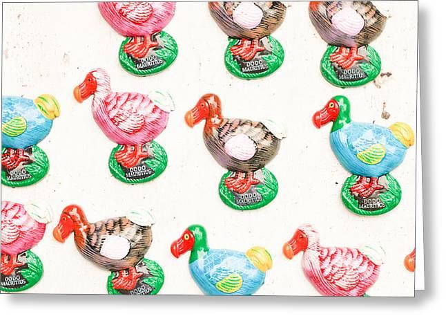 Dodo Souvenirs Greeting Card by Tom Gowanlock