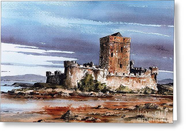 Donegal  Doe Castle Nr Creeslough  Greeting Card