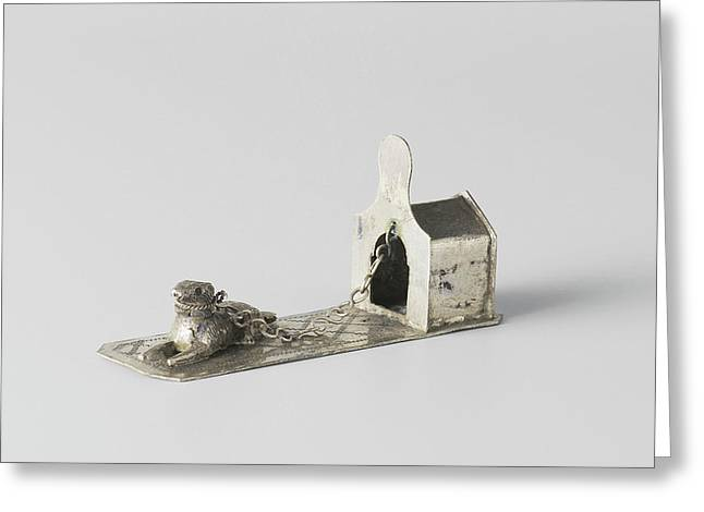 Doghouse, W. Freen Greeting Card