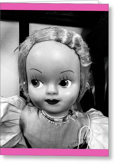 Doll 1 Greeting Card by Robert Yaeger