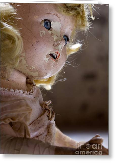 Doll In The Attic Greeting Card