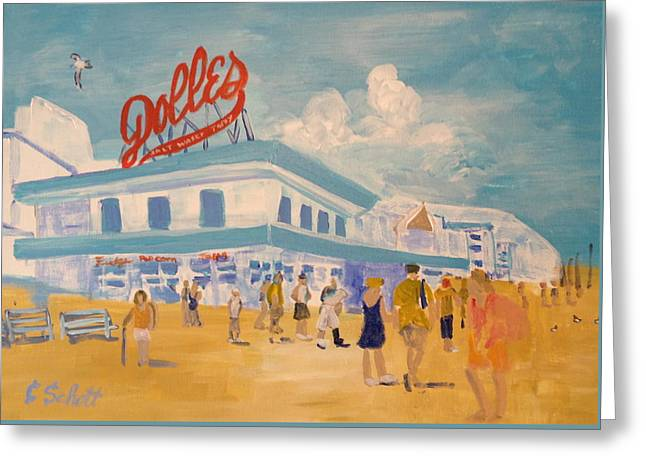 Dolles Salt Water Taffy Greeting Card