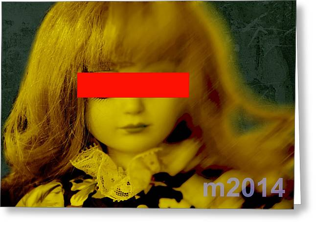 Dolls 22 Greeting Card