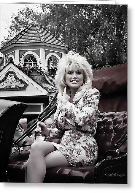 Dolly's Parade Greeting Card by Brian Graybill