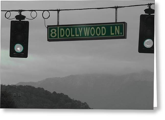 Dollywood Greeting Card by Dan Sproul