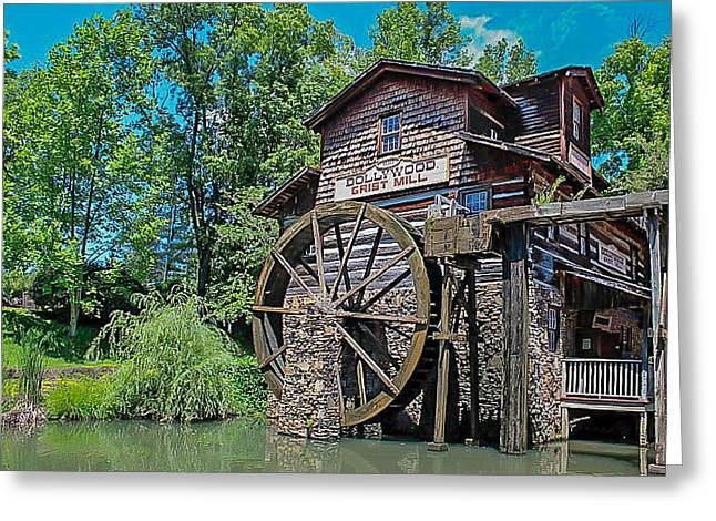 Greeting Card featuring the photograph Dollywood  by Trace Kittrell