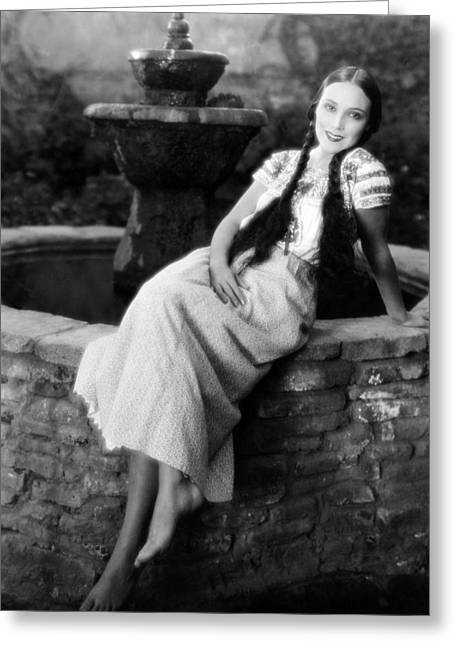 Dolores Del Rio Greeting Card